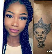 symply tacha DMW tattoo