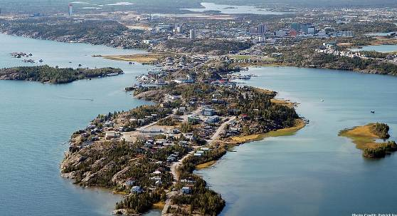 Yellowknife best tourist country in the world