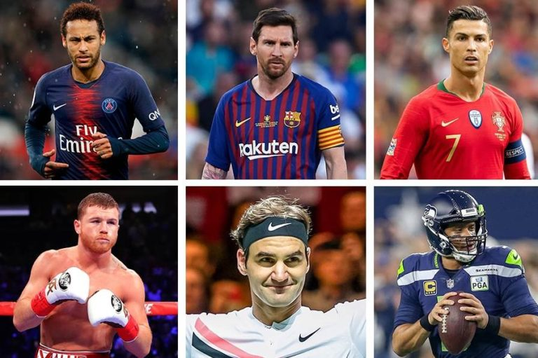 Top 10 Richest Athletes in the World 2020