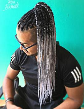 best Men's braids hairstyles