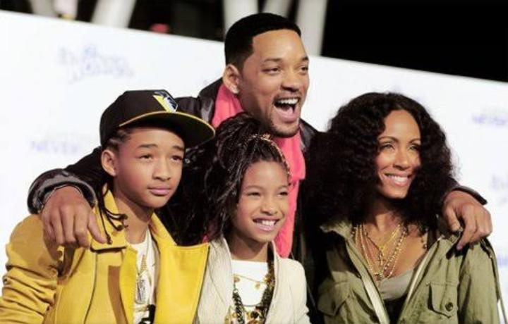 Jaden Smith family