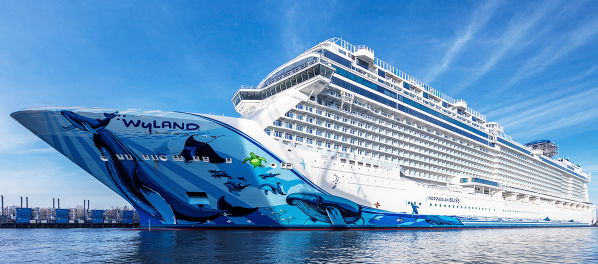 biggest cruise ships in the world in 2021