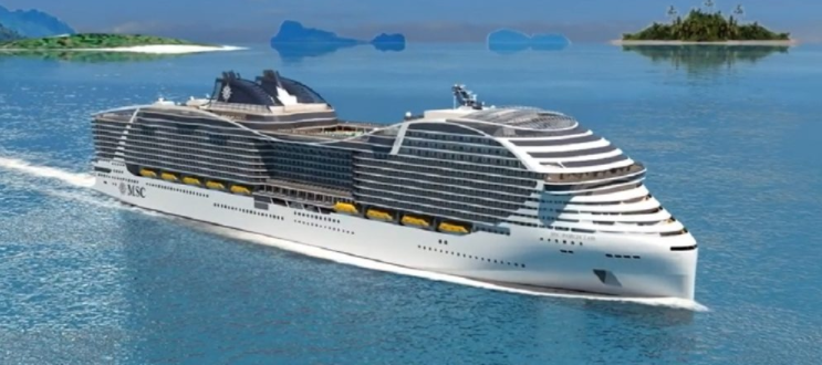 biggest cruise ships in the world 2021