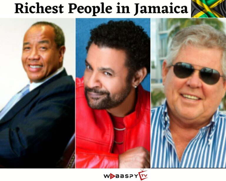 Top 10 Richest People in Jamaica 2021