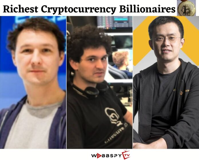 Richest Cryptocurrency Billionaires in the World 2021