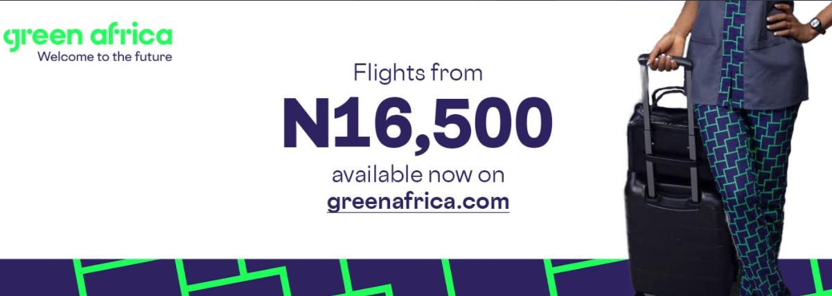 Green Africa Airways Flights
