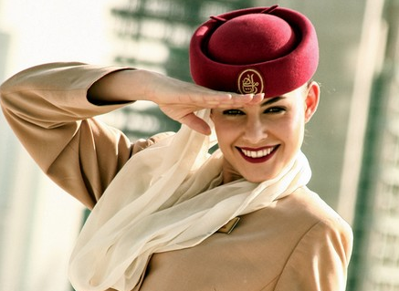 Most Attractive Airlines hostess in The World